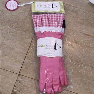 Pink Gloveables with Bow Accent NWT